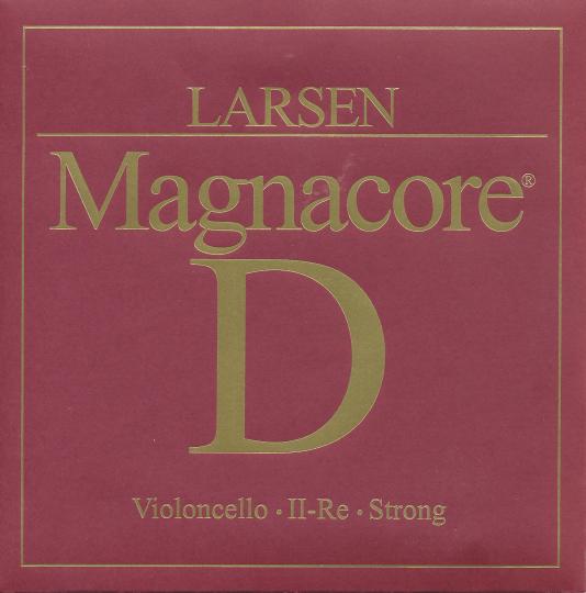 Larsen Cello Magnacore Ré tirant fort, pour violoncelle