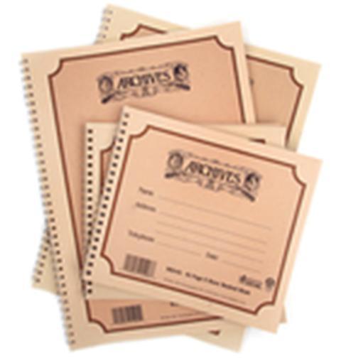 Cahier à spirales 10 portées -Format 229x305mm 48 feuilles
