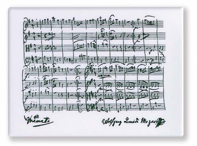 Magnet motif Mozart