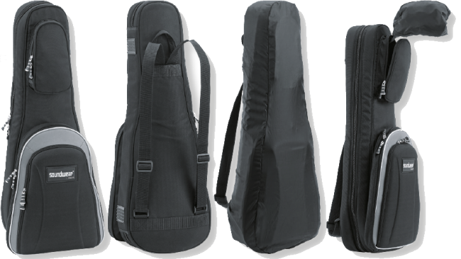 O.K. sac de protection pour étui de forme 4/4,  noir