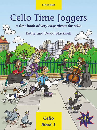 Cello Time Joggers mit CD, Band 1