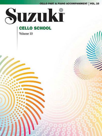 Suzuki Ecole du violoncelle Volume 10
