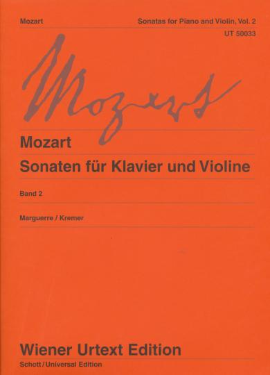 Mozart, Sonaten für Klavier und Violine, Band 2