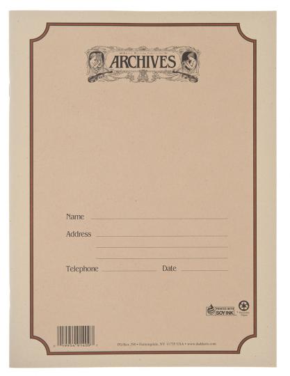 Cahier de musique 10 portées 48 feuilles