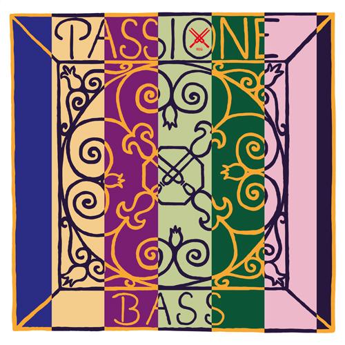 Pirastro Passione Kontrabass Satz medium