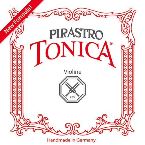 PIRASTRO Tonica Violin E-Saite Silverysteel Kugel, stark