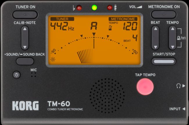 Métronome et accordeur KORG TM-60