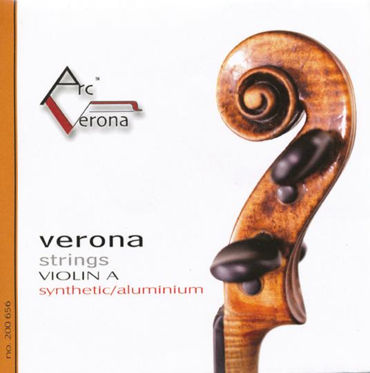 Arc Verona, Jeu avec Mi boule tirant moyen pour violon