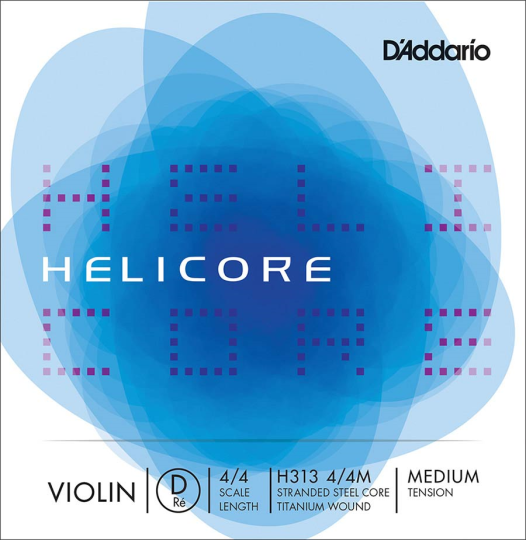 D' Addario Helicore, Ré  Moyen pour violon