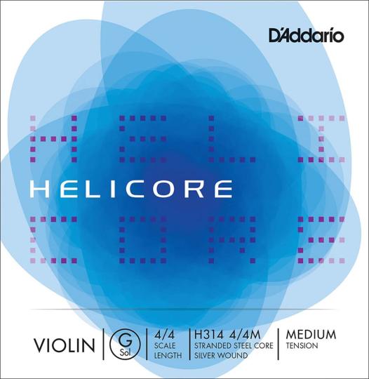 D' Addario Helicore, Sol Moyen pour violon