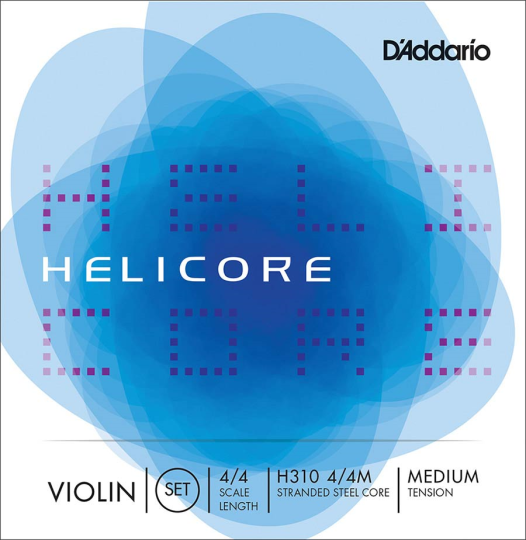 D´ADDARIO Helicore, JEU pour violon (Mi boucle) tirant moyen