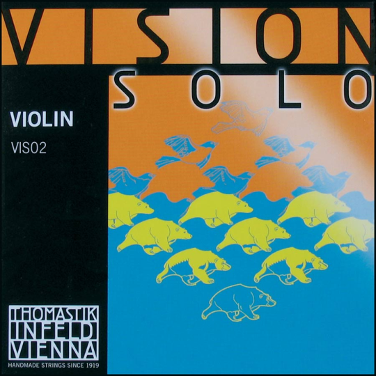 THOMASTIK VISION SOLO, La  tirant moyen pour violon