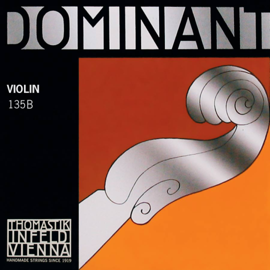THOMASTIK Dominant,Jeu tirant moyen pour violon 4/4 (Mi boucle)