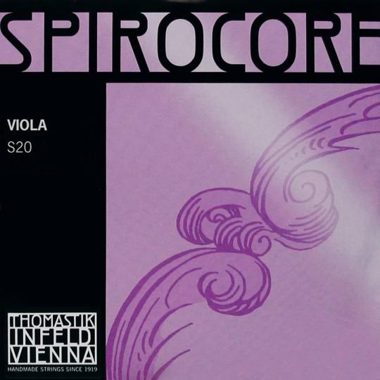 THOMASTIK Spirocore, Sol chrome tirant moyen pour alto