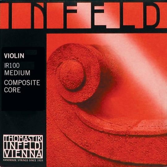 THOMASTIK Infeld, Jeu rouge/red (Mi boule) pour violon
