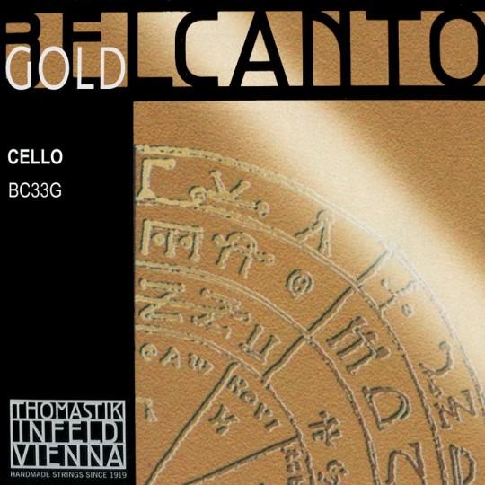 THOMASTIK Belcanto Gold, Do tirant moyen pour violoncelle