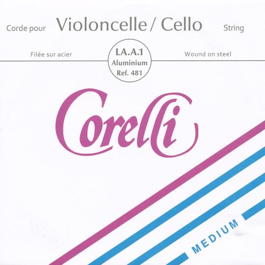 CORELLI, LA acier tirant moyen, pour violoncelle