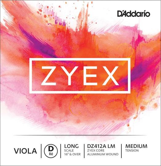 D´ADDARIO Zyex, ré tirant moyen, pour alto