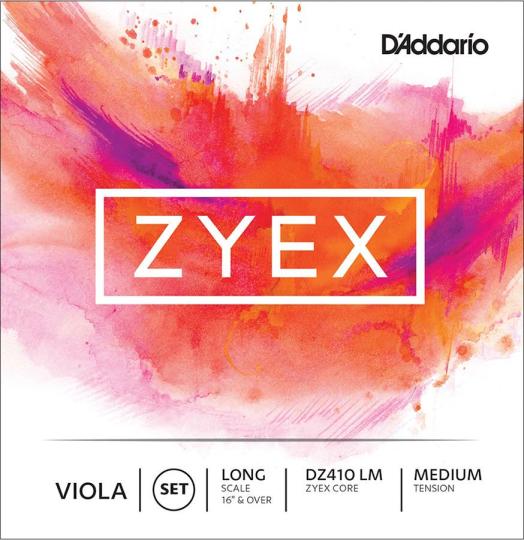 D´ADDARIO Zyex, jeu tirant moyen, pour alto
