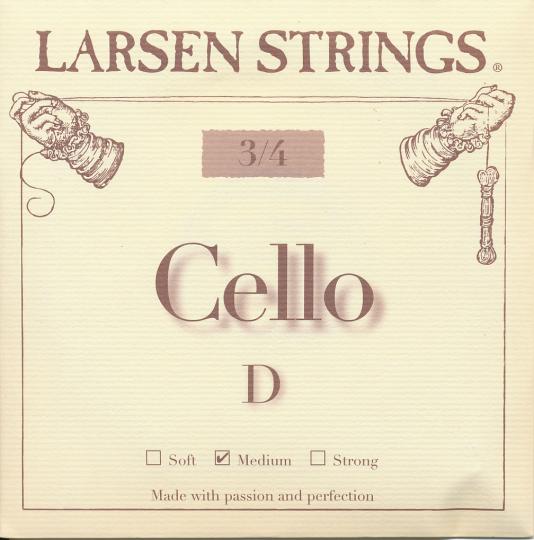 LARSEN, Ré tirant moyen, pour violoncelle