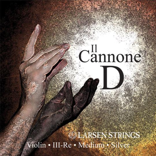 Larsen Il Cannone, Ré tirant moyen, pour violon