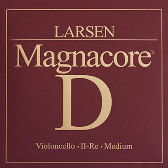 Larsen Cello Magnacore Ré tirant moyen, pour violoncelle