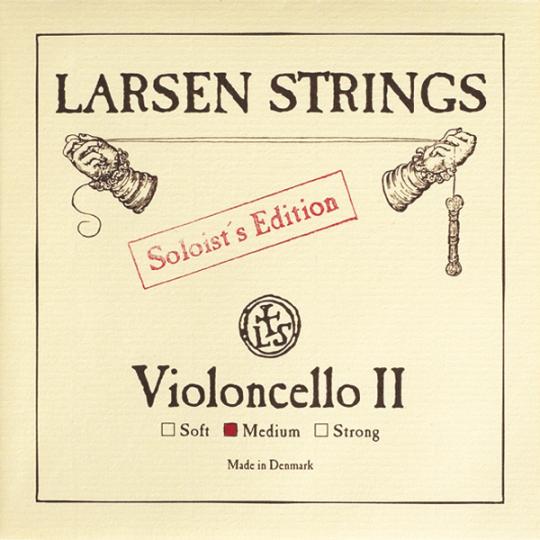 LARSEN, Ré soloist tirant moyen, pour violoncelle