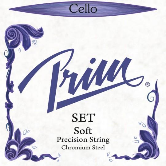 PRIM Precision, jeu tirant faible, pour violoncelle