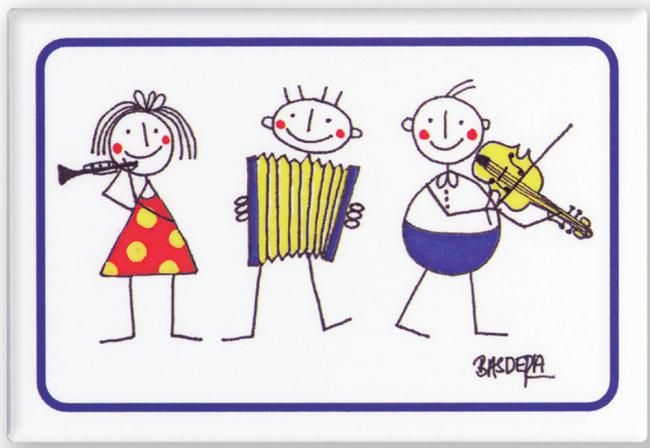 Magnet motif  3 little Philharmonics