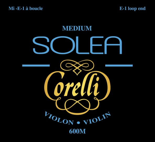CORELLI SOLEA Violinsaiten SATZ mit E-Kugel, medium