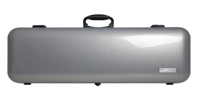 GEWA ETUI VIOLON AIR 2.1, Argent métallisé brillant