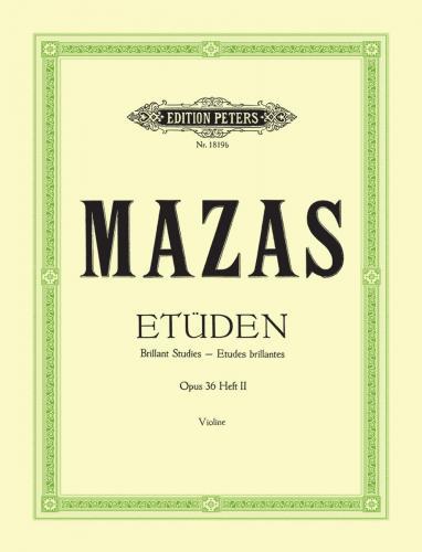 Mazas, Etüden Op. 36, Heft 3