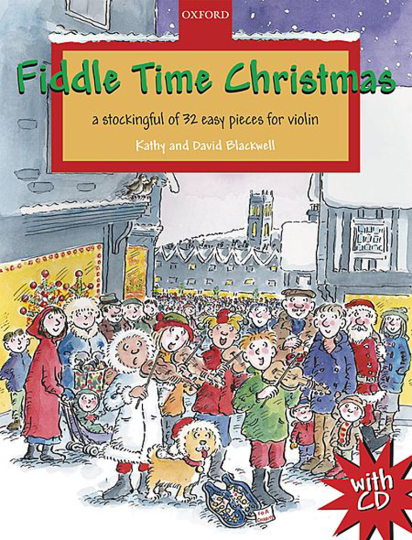 Fiddle Time Christmas, 1-2 violons