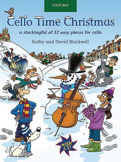 Cello Time Christmas, CD inclus