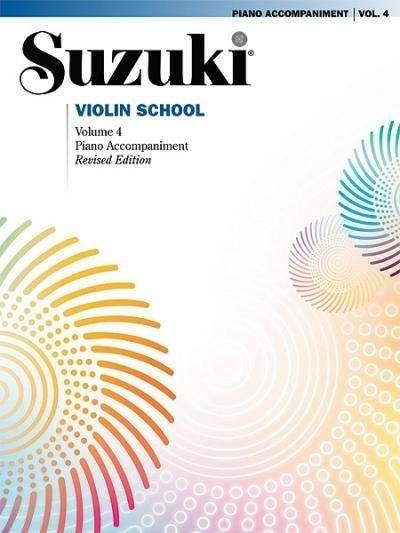Suzuki école du violon avec accompagnement piano, volume 4