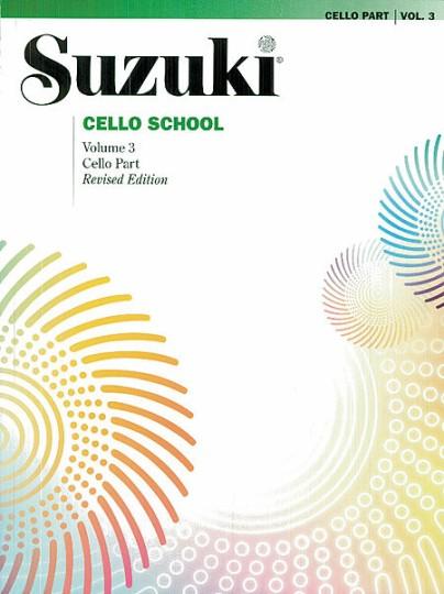 Suzuki Ecole du violoncelle Volume 3