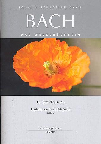 Johann Seb. Bach Orgelbüchlein Band 3