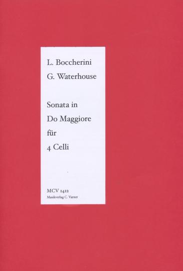 Boccherini (1743-1805), Sonate en ré majeur, pour 4 violoncelles