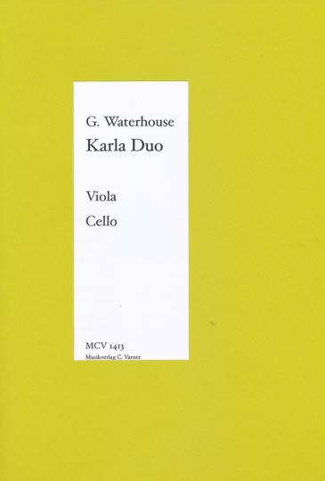 Graham Waterhouse, Karla Duo, pour violon et alto