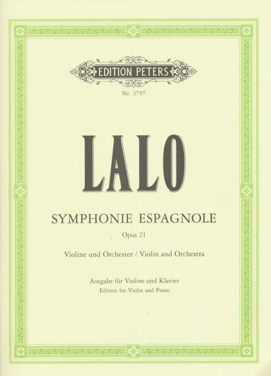 Lalo, Symphonie Espagnole, Opus 21