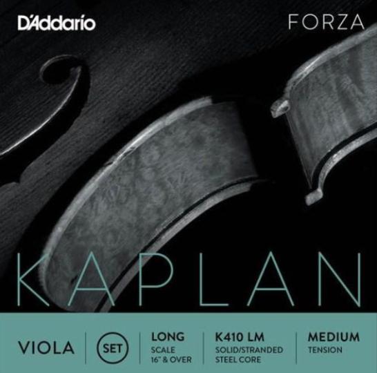 Kaplan Viola  Jeu tirant moyen pour alto, Long Scale