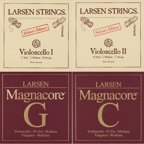 LARSEN SOLOIST / MAGNACORE Jeu pour violoncelle, tirant moyen