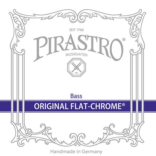 PIRASTRO OriginalFlatChrome, si tirant moyen pour contrebasse