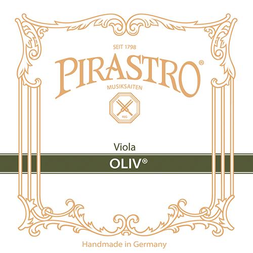 PIRASTRO Oliv, Ré boyau calibre 14 1/2, argent, pour alto
