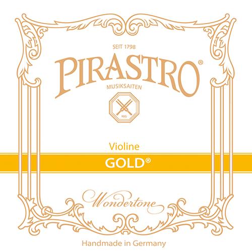 PIRASTRO Gold, Mi boucle tirant moyen, pour violon