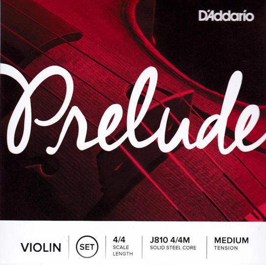 D´ Addario Prelude, jeu de cordes pour violon 4/4