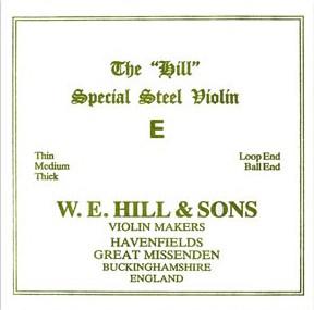 THE HILL, mi boule tirant faible, pour violon