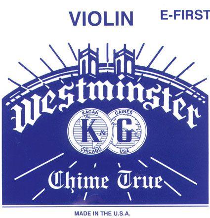 WESTMINSTER, mi boucle, pour violon